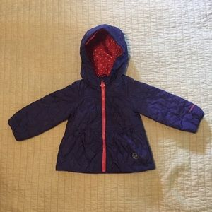 Purple Quilted Hearts Jacket